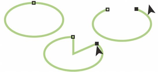 CorelDRAW shapes ellipses Drawing ellipses, circles, arcs, and pie shapes