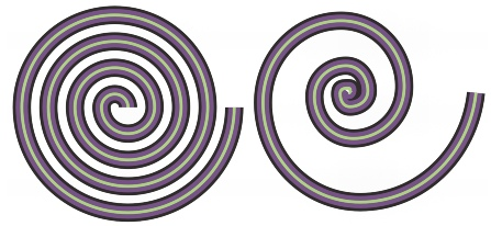 CorelDRAW shapes spirals Drawing spirals