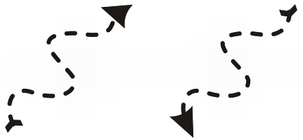 CorelDRAW shaping curve direction Manipulating segments