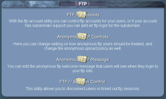 Cpanel ftp FTP