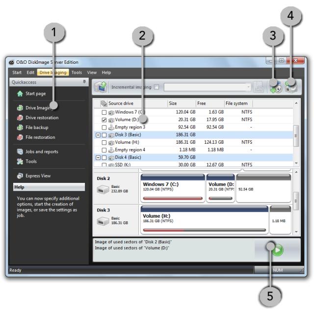 O&O DiskImage oodi6 laufwerke sichern 640x636 Image individual drives