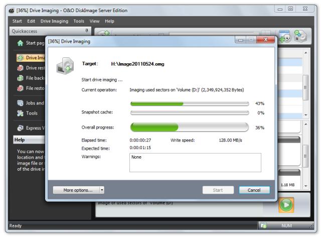 O&O DiskImage oodi6 sicherungsprozess 640x472 Lock a drive