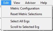 Intel Graphics Performance Analyzers fa edit Edit Menu