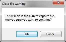 Intel Graphics Performance Analyzers fa file warning File Menu