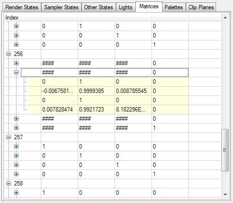 Intel Graphics Performance Analyzers fa tab 5 State Tab