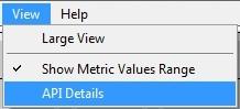 Intel Graphics Performance Analyzers fa view View Menu