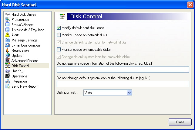 Hard Disc Sentinel img 25 c dc Disk control