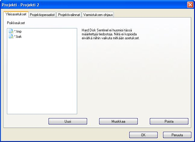 Hard Disc Sentinel img 32 mod3 Yleisasetukset