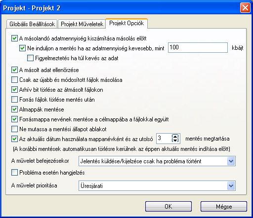Hard Disc Sentinel img 33 mod4 Projekt opciók