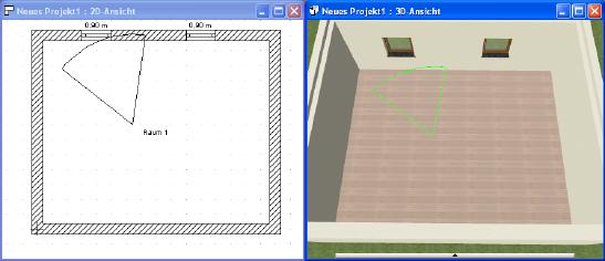Home Designer image11 162 3D Betrachterstandpunkt setzen