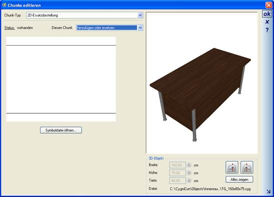 Home Designer image11 245 2D Ersatzdarstellung für 3D Objekte, Chunk Typ 2D Ersatzdarstellung