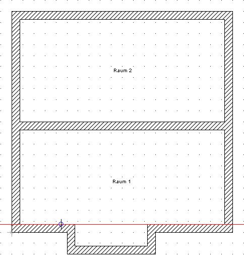 Home Designer image11 38 Beispiel zur Verwendung von Konstruktionshilfen