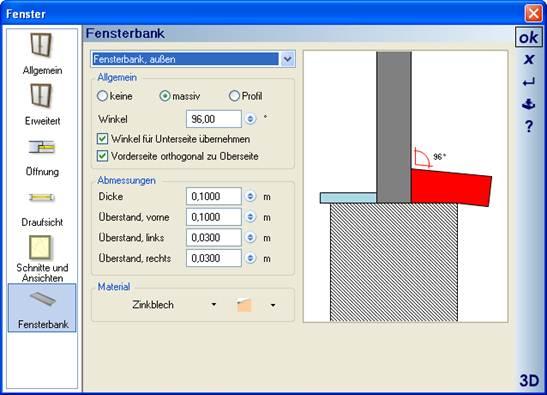 Home Designer image11 386 Fensterbank