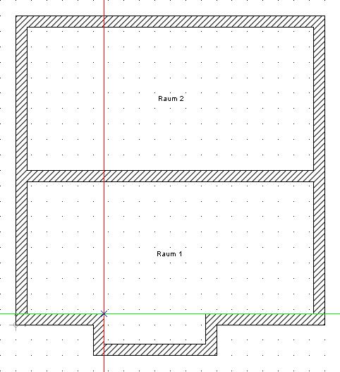 Home Designer image11 39 Beispiel zur Verwendung von Konstruktionshilfen