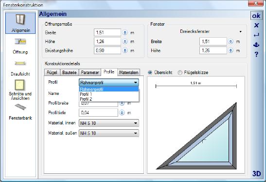 Home Designer image11 397 Profile ändern