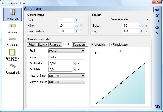 Home Designer image11 398 Profile ändern
