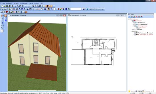 Home Designer image11 527 Eingabe Rechteck und Polygon