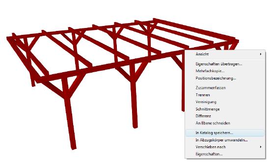 Home Designer image11 545 Speichern von 3D Konstruktionen / Katalog