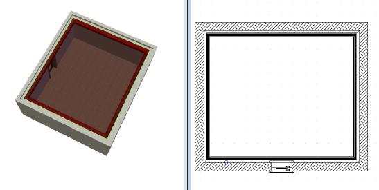 Home Designer image11 595 Polygon, Beispiel Deckenprofil