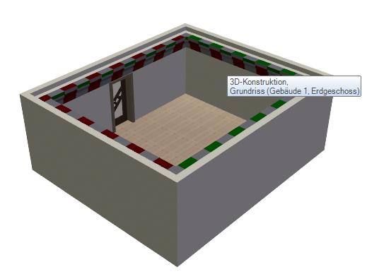 Home Designer image11 596 Polygon, Beispiel Deckenprofil