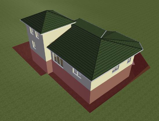 Home Designer image11 610 Beispiel Abzugskörper im Gelände