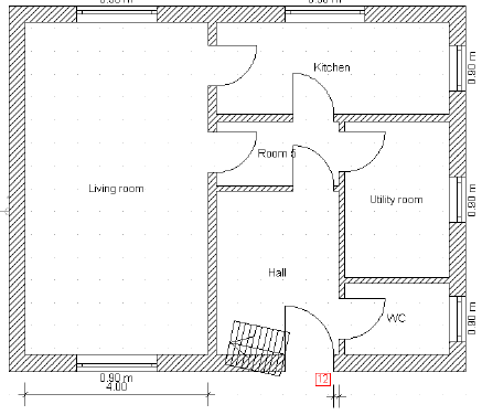 Home Designer image11 105 Inserting Stairs