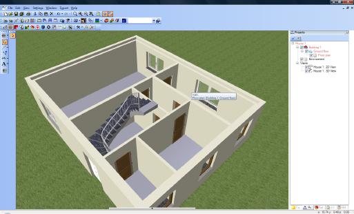 Home Designer image11 111 Inserting Stairs