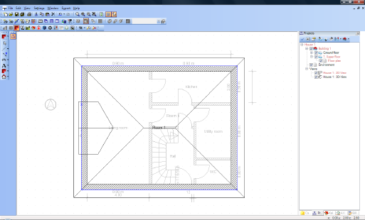 Home Designer image11 130 Inserting Dormers