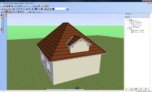 Home Designer image11 132 Inserting Dormers