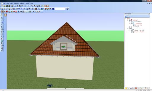 Home Designer image11 133 Inserting Dormers