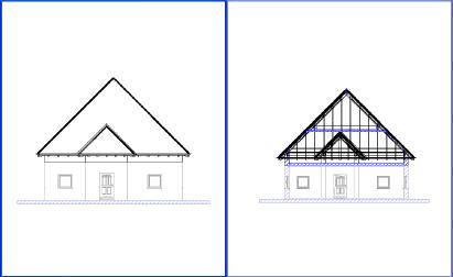Home Designer image11 169 Exterior Views, Representation with concealed Edges