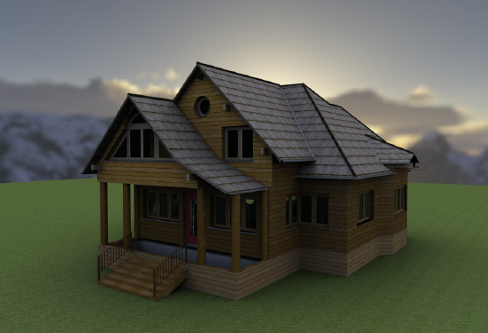 Home Designer image11 193 Ambient Occlusion