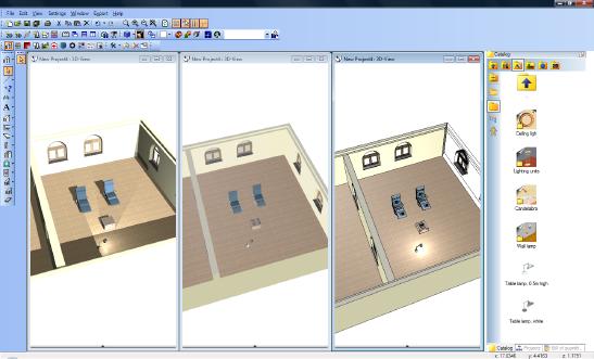 Home Designer image11 202 Presentation and Sketch Views