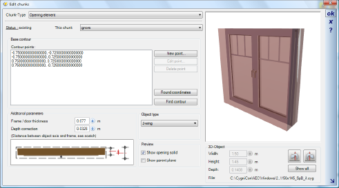 Home Designer image11 230 Creating your own Windows and Doors, Chunk Type 'Opening`