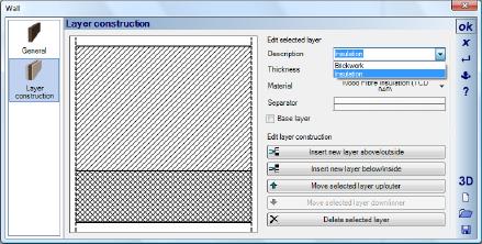 Home Designer image11 337 Layer construction / Multi layer walls