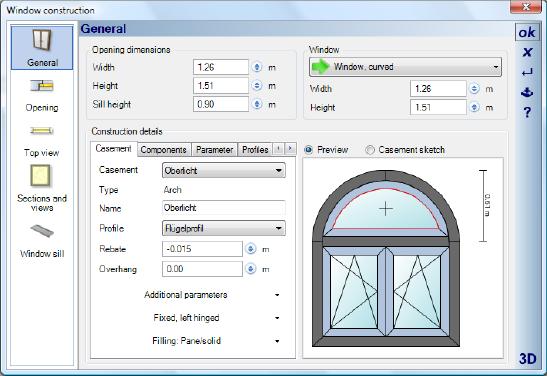 Home Designer image11 374 Editing Window Constructions