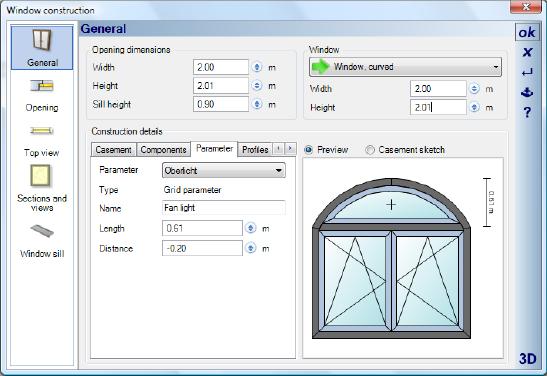 Home Designer image11 376 Editing Window Constructions