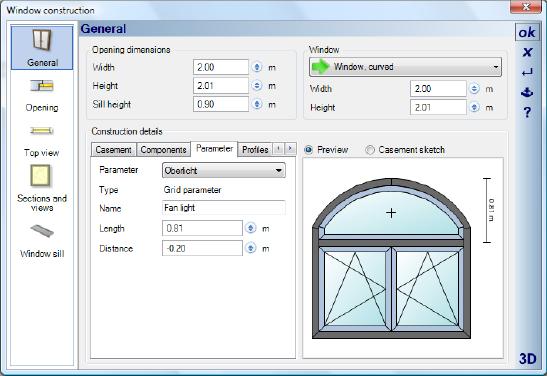 Home Designer image11 377 Editing Window Constructions