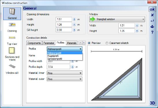 Home Designer image11 380 Modifying Profiles