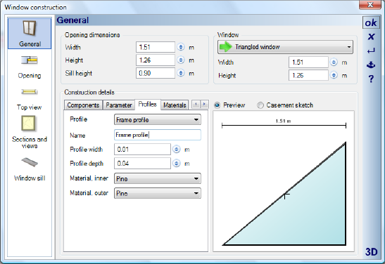 Home Designer image11 381 Modifying Profiles