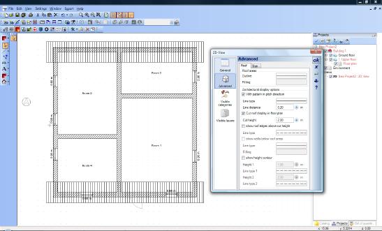Home Designer image11 442 2D Representation of Roofs