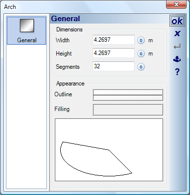 Home Designer image11 467 Performance, Number of Segments in Contours and Profiles