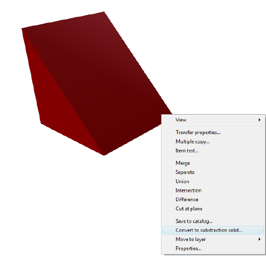 Home Designer image11 581 Converting 3D Constructions to Subtraction Solids