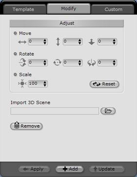 iClone 3dstage modify Setting the Scene