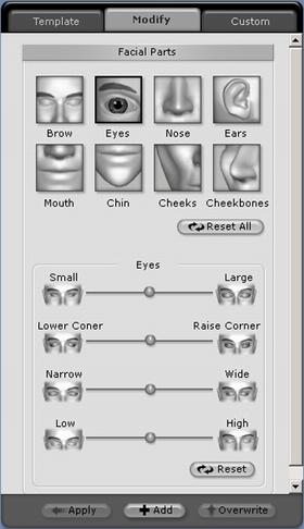 iClone adjust%20face Face Adjustment
