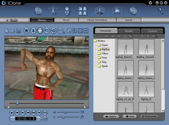 iClone animating your character 01 Animating Your Character