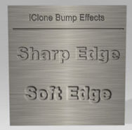 iClone bump soft sharp Types of Maps