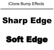 iClone bump soft sharp1 Types of Maps