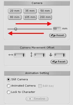 iClone camera%20lens02 Camera Lens Function