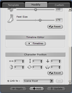 iClone character%20modify Importing a Character